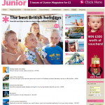Resort round-up in Junior magazine