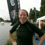 I survived two miles in the Thames!