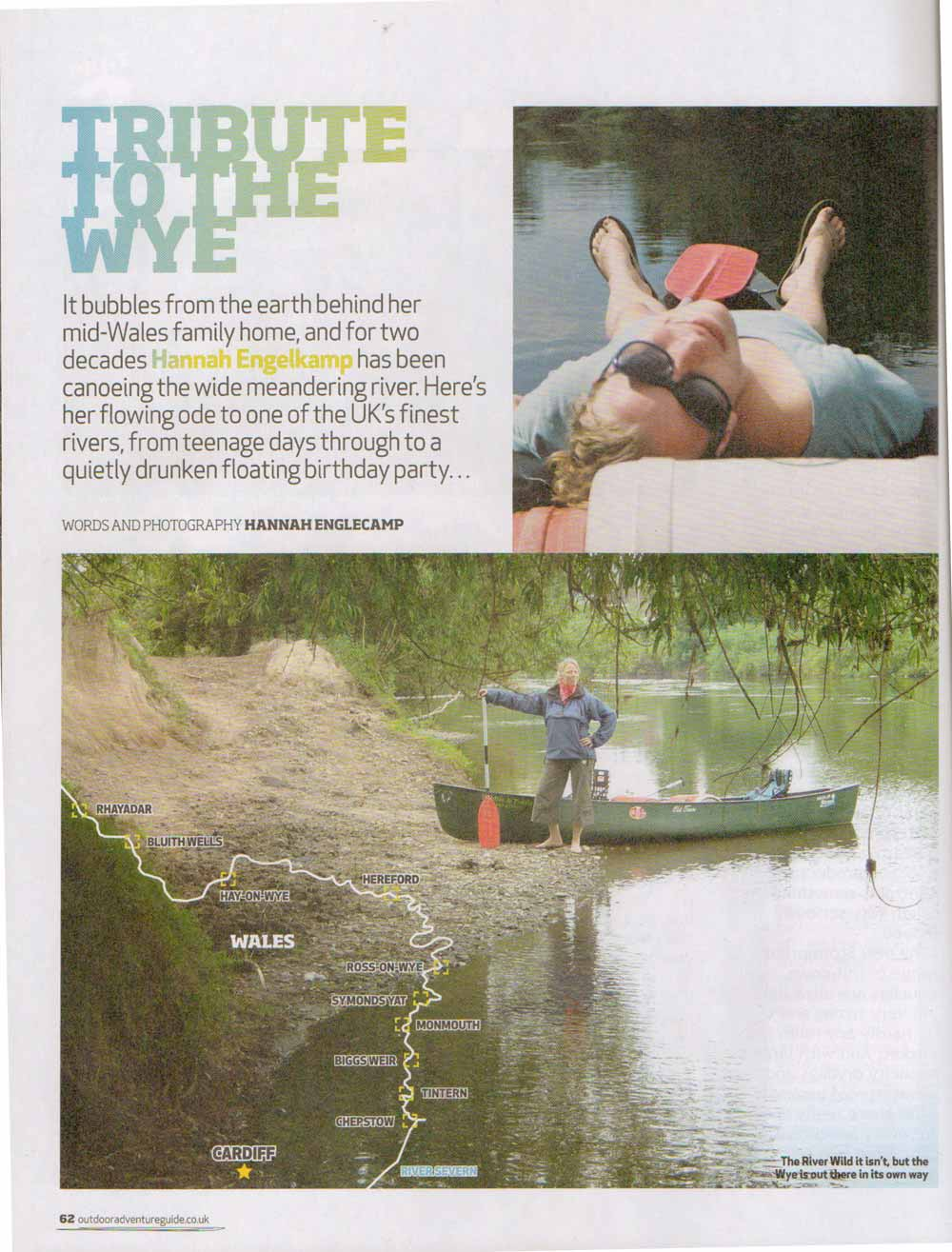 Features in the Outdoor Adventure Guide #2