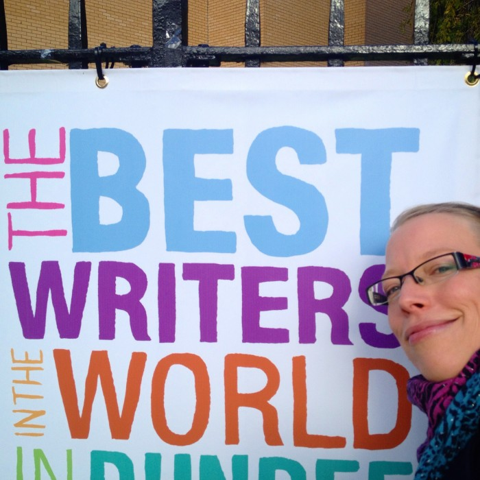 Invited to talk at Dundee Literary Festival