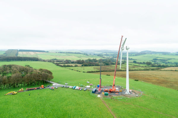 Grannell community wind turbine